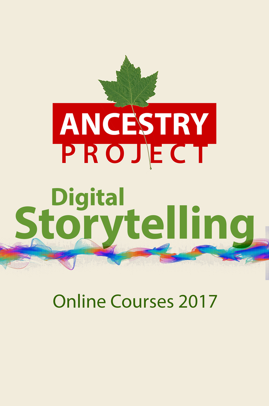 Digital Storytelling - Online Courses for 2017