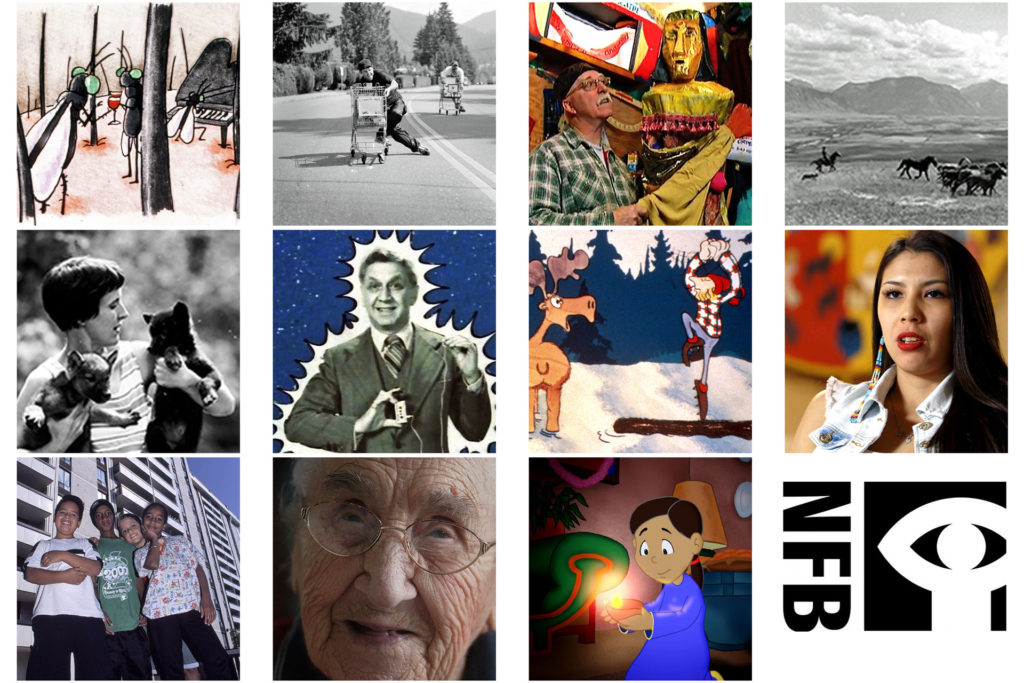 contact sheet for NFB Canada 150 picks