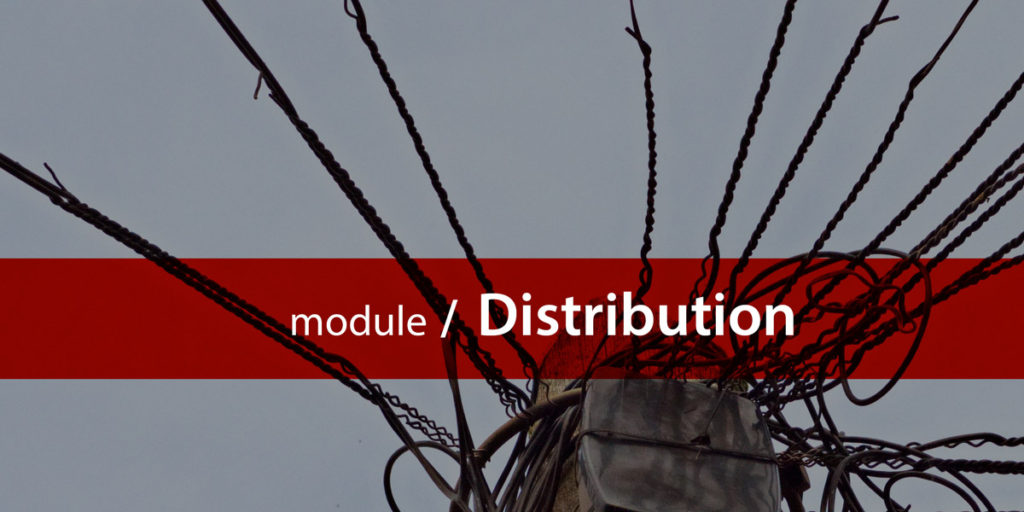 Distribution module title card