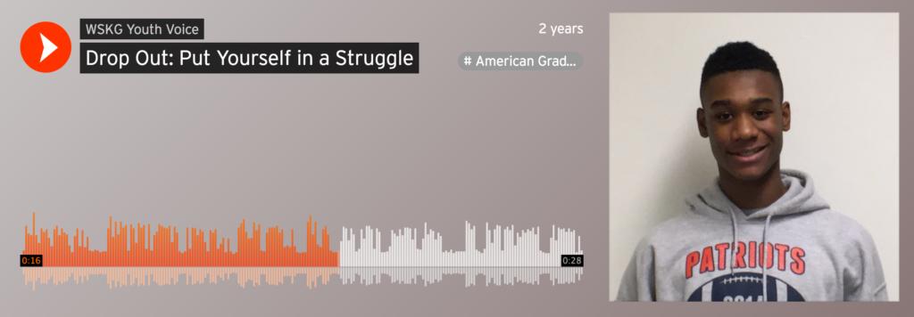 screenshot digital storytelling at Soundcloud