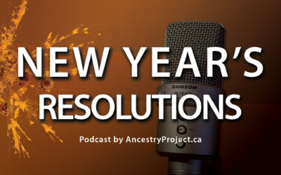 Podcast Launch Features New Year's Resolutions